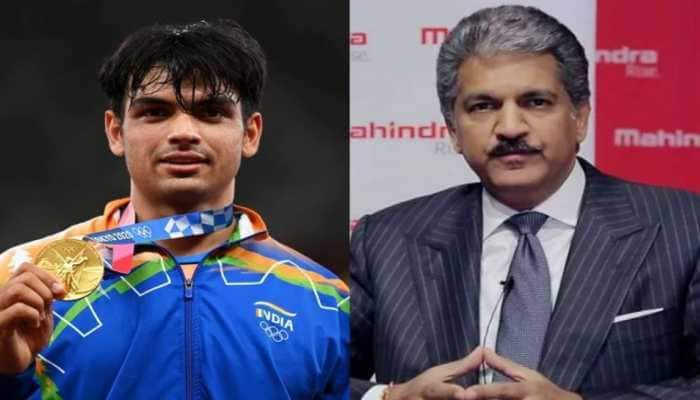 Gifts raining for golden boy! Anand Mahindra promises to gift XUV 700 model to Neeraj Chopra