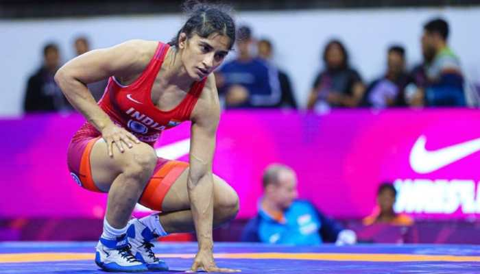 India's Vinesh Phogat has been suspended by Wrestling Federation of India for refusing to train with Indian team and breach of apparel code at Tokyo Olympics. (Photo: IANS)
