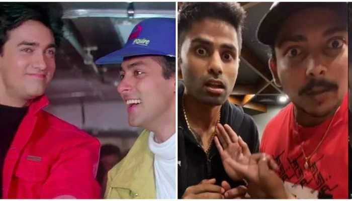 IND vs ENG: Suryakumar Yadav, Prithvi Shaw bring alive Amar-Prem from 'Andaz Apna Apna', leaves netizens in splits - WATCH