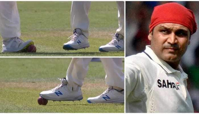 'Is it ball tampering': Virender Sehwag questions sprit of England after shocking visuals emerge