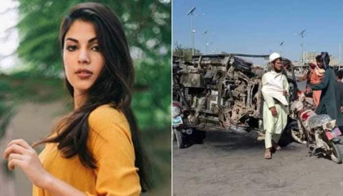 Afghanistan crisis: Rhea Chakraborty is 'heartbroken' over women's condition in the country