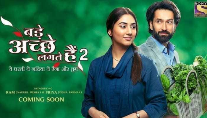 Poster out for 'Bade Acche Lagte Hain 2' starring Disha Parmar, Nakuul Mehta