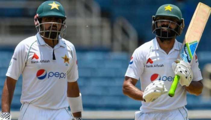WI vs PAK 2nd Test: Babar Azam, Fawad Alam score half-tons to help Pakistan stage comeback on Day 1