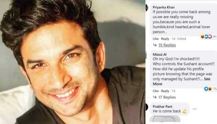 Sushant Singh Rajput's Facebook account witnesses mysterious update, leaves fans in shock!
