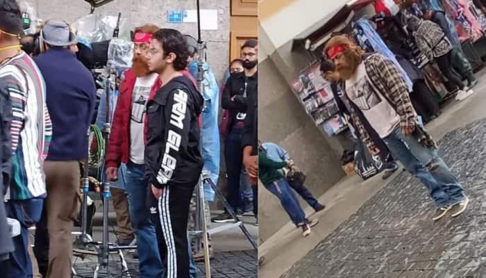Salman Khan's look from Tiger 3 Russia schedule leaked, actor dons a huge orange beard