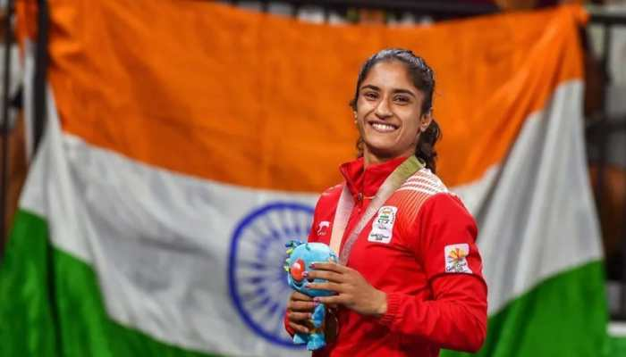 Wrestler Vinesh Phogat suspension over after a warning by WFI on her 27th birthday