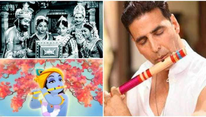 Lord Krishna has been a popular character in Indian films