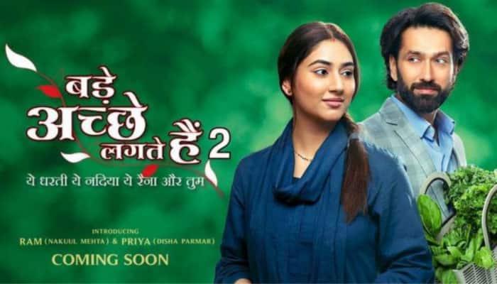 Disha Parmar calls hubby Rahul Vaidya her lucky charm as she got ' Bade Acche Lagte Hain 2' post marriage