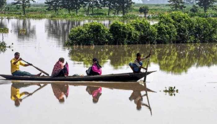 Assam Floods: Over 3.5 lakh people across 21 districts affected as Brahmaputra River flows above danger mark