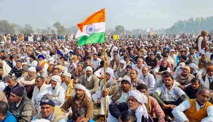 Farmers from 15 states head to Uttar Pradesh's Muzaffarnagar for Kisan mahapanchayat today