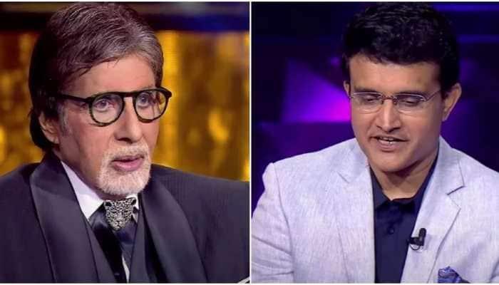 'Virat Kohli Oxford street chala jaega bina kapdo ke': Sourav Ganguly tells Amitabh Bachchan on KBC