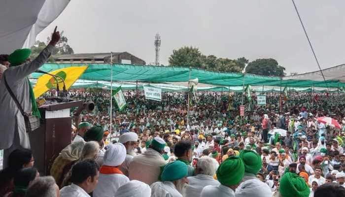 Kisan Mahapanchayat in UP: Farmers warn of more protests, Bharat Bandh if demands not met
