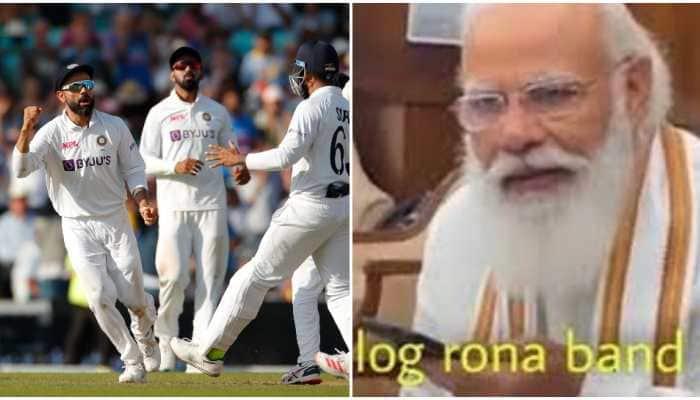 India defeat England, Virender Sehwag uses PM Modi meme to tease naysayers