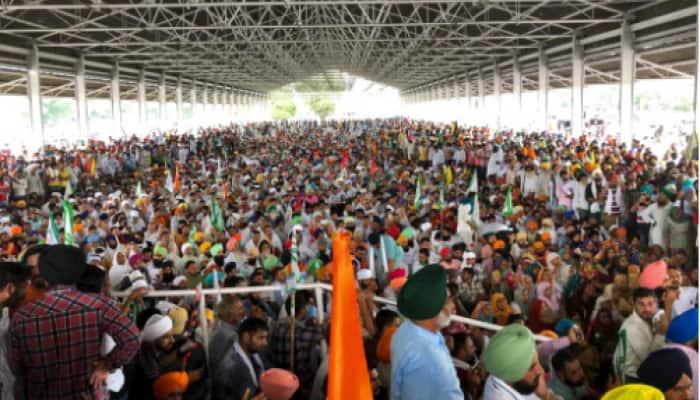 Kisan Mahapanchayat at Karnal: Congress attacks Khattar govt, says BJP can talk to Taliban but not farmers