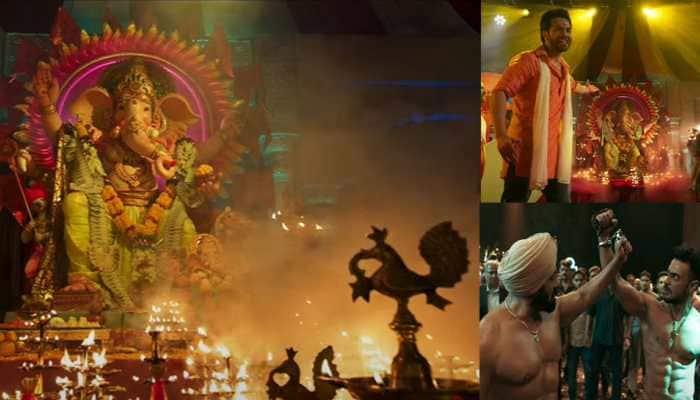 Vighnaharta song: Varun Dhawan joins Salman Khan, Aayush Sharma for exhilarating Ganpati track in Antim - Watch