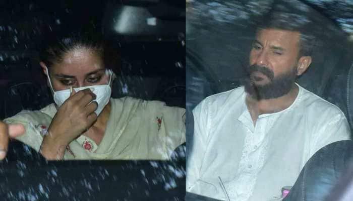 Kareena Kapoor, Saif Ali Khan visit Akshay Kumar's residence to offer condolence on mother Aruna Bhatia's death
