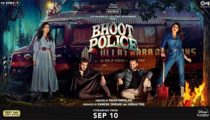 Bhoot Police audience review: Saif Ali Khan, Arjun Kapoor starrer streams on OTT, netizens react!