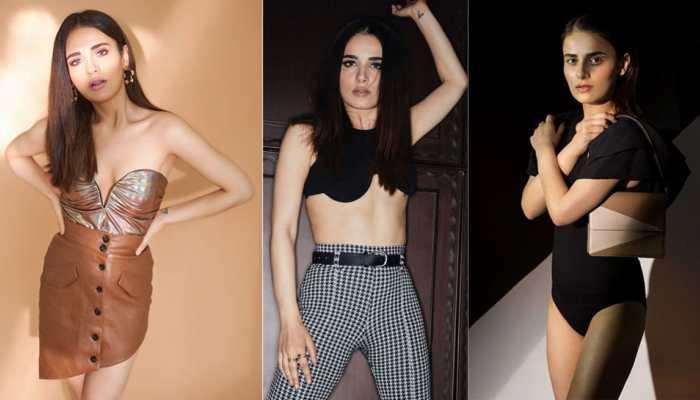 Radhika Madan's black bralette and Bershka pants look under fire, gets trolled
