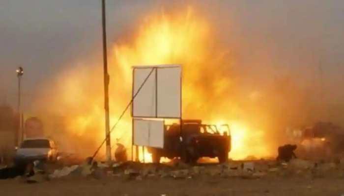 Multiple explosions rock Iraq's Erbil airport
