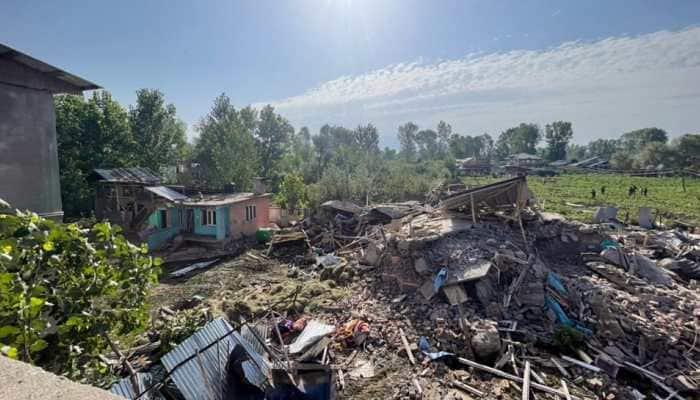 Cloudburst in Jammu and Kashmir's Baramulla district kills four including three children