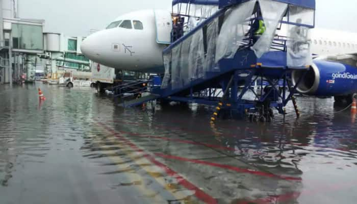 Flight operations partially affected at Kolkata airport due to heavy rains