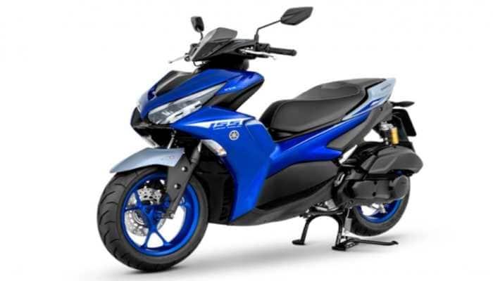 Yamaha launches Aerox 155 powerful scooter