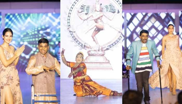 Fashion and talent show for specially-abled people