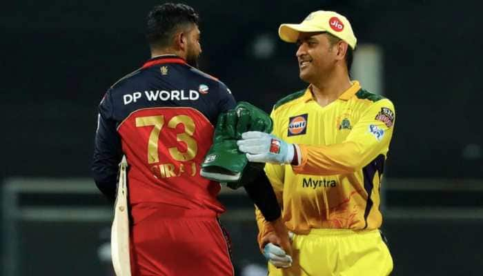 Chennai Super Kings skipper MS Dhoni will be hoping for a second win over Virat Kohli's Royal Challengers Bangalore in IPL 2021. (Photo: BCCI/IPL)