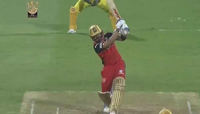 Virat Kohli's 'no-look six' off Shardul Thakur lands out of Sharjah Stadium during CSK vs RCB IPL 2021 clash, video goes viral - WATCH
