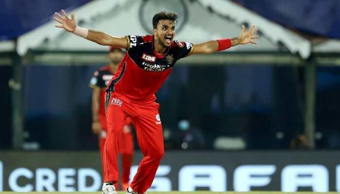 IPL 2021: RCB pacer Harshal Patel bags hat-trick, dismisses MI players Hardik Pandya, Keiron Pollard and Rahul Chahar in a row - WATCH
