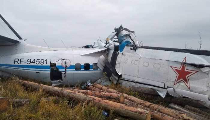 At least 16 killed, several injured in plane crash in Russia's Tatarstan