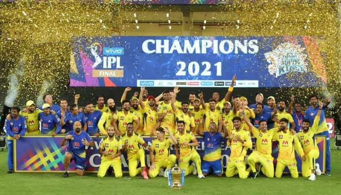 MS Dhoni-led Chennai Super Kings won the IPL 2021 title, becoming champions for the 4th time in T20 league. (Photo: BCCI/IPL)