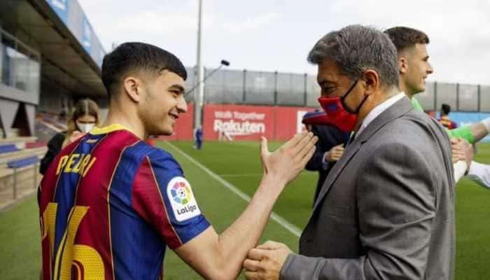 Pedri signs new deal with Barcelona with 1 billion euros release clause