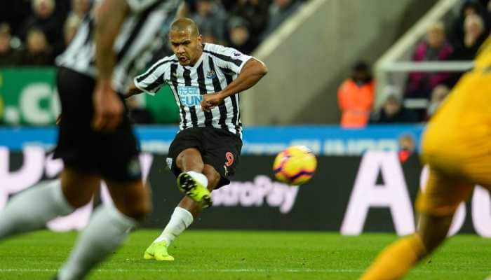 EPL: Newcastle beaten in added time by Wolves after sending off